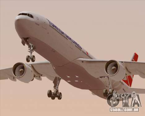 Airbus A330-300 Turkish Airlines para o motor de GTA San Andreas