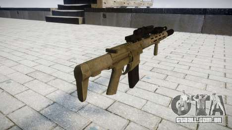 Rifle de assalto AAC Honey Badger [Remake] para GTA 4 segundo screenshot
