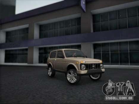 Lada Urdan para GTA San Andreas esquerda vista
