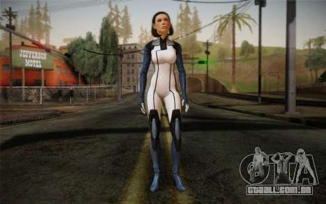 Dr. Eva Core New face from Mass Effect 3 para GTA San Andreas