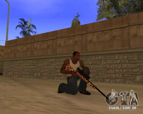 Jaguar Weapon pack para GTA San Andreas quinto tela