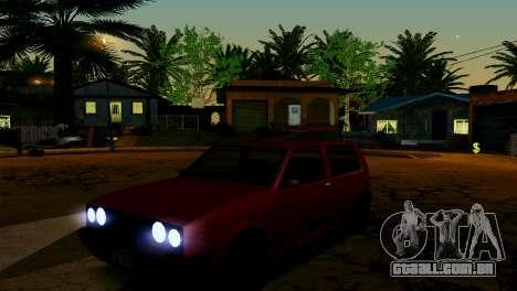 ENB fracas e médias PC SA:MP para GTA San Andreas décimo tela