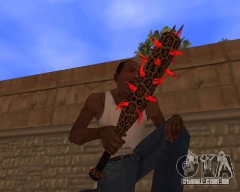 Jaguar Weapon pack para GTA San Andreas por diante tela