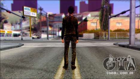 Ellie from The Last Of Us v3 para GTA San Andreas segunda tela