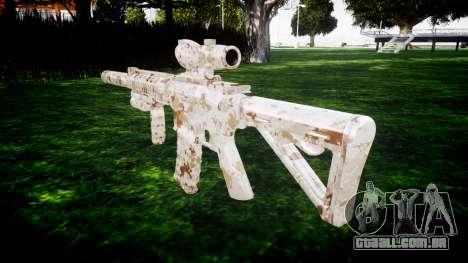 Máquina M4 Devgru alvo para GTA 4 segundo screenshot
