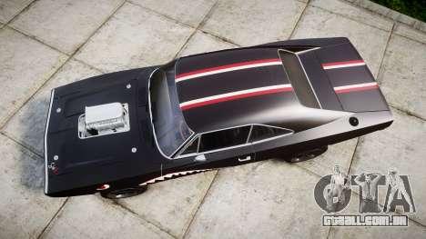 Dodge Charger RT 1970 Shark para GTA 4 vista direita
