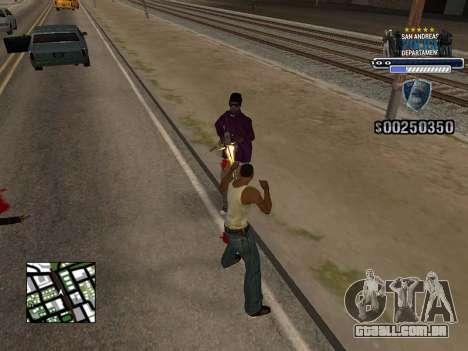 Police HUD para GTA San Andreas segunda tela