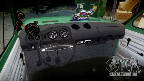 Fiat 128 Berlina para GTA 4 vista de volta