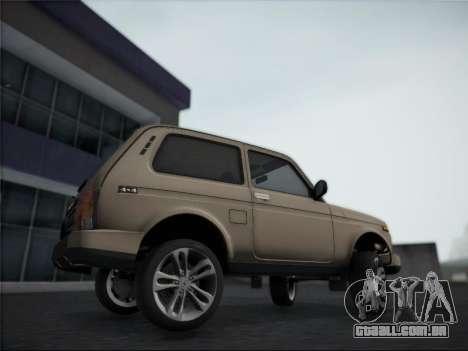 Lada Urdan para GTA San Andreas traseira esquerda vista