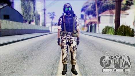 Hecu Soldier 2 from Half-Life 2 para GTA San Andreas