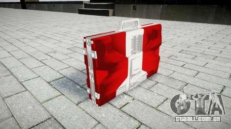 Iron Man Mark V Briefcase para GTA 4 segundo screenshot