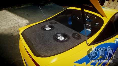 Mitsubishi Eclipse GSX 1995 para GTA 4 vista superior