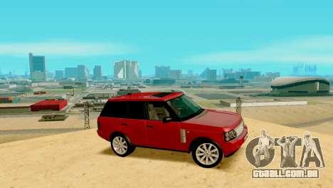ENB fracas e médias PC SA:MP para GTA San Andreas quinto tela