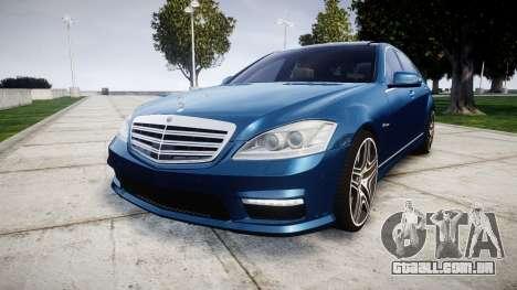 Mercedes-Benz S65 W221 AMG v2.0 rims2 para GTA 4