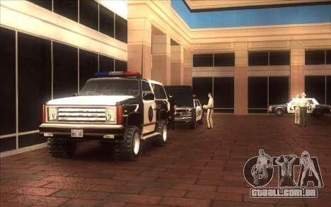 O renascimento da LVPD para GTA San Andreas terceira tela