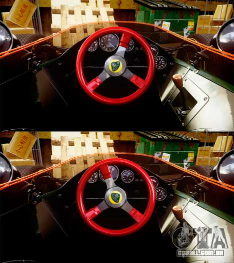Lotus Type 49 1967 [RIV] PJ19-20 para GTA 4 vista de volta