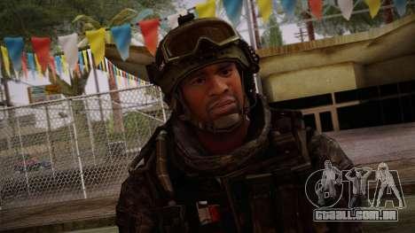 Modern Warfare 2 Skin 6 para GTA San Andreas terceira tela