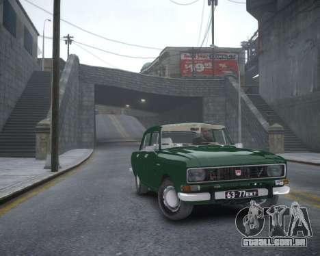 AZLK 2140 para GTA 4 traseira esquerda vista