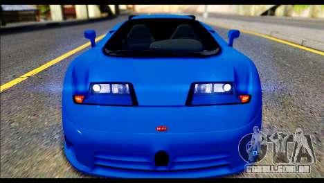 Bugatti EB110SS para GTA San Andreas vista direita