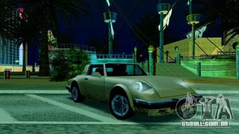 ENB fracas e médias PC SA:MP para GTA San Andreas oitavo tela
