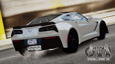 Chevrolet Corvette Z06 2015 para GTA 4 esquerda vista