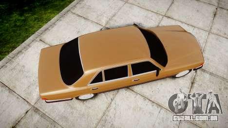 Mercedes-Benz 560SEL W126 para GTA 4 vista direita