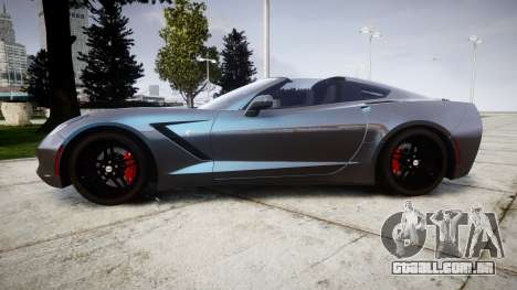 Chevrolet Corvette Stingray C7 2014 para GTA 4 esquerda vista