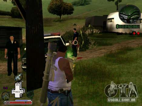 C-HUD Optiwka para GTA San Andreas