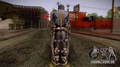 Mercenaries Exoskeleton para GTA San Andreas segunda tela
