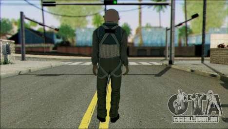 USA Jet Pilot from Battlefield 4 para GTA San Andreas segunda tela