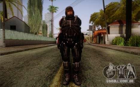 Shepard N7 Defender from Mass Effect 3 para GTA San Andreas