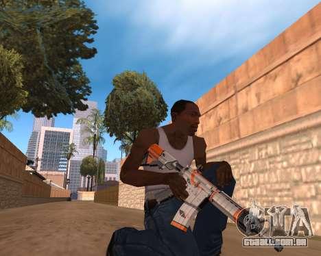 CS:GO Weapon pack Asiimov para GTA San Andreas terceira tela