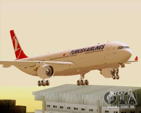 Airbus A330-300 Turkish Airlines para GTA San Andreas