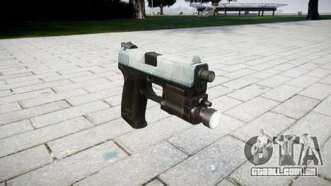 Pistola HK USP 45 gelada para GTA 4