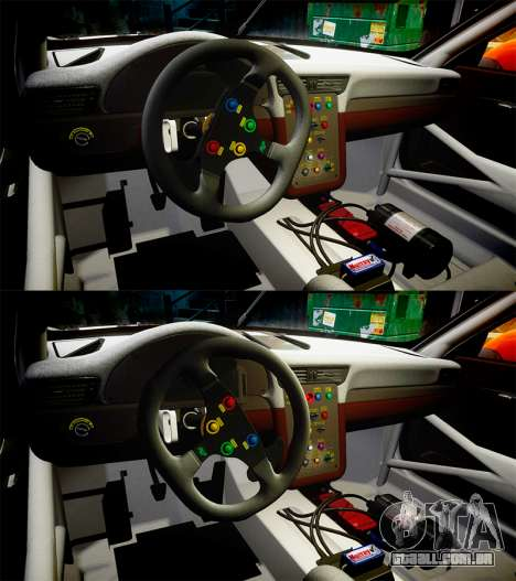 RUF RGT-8 GT3 [RIV] Project CARS para GTA 4 vista superior