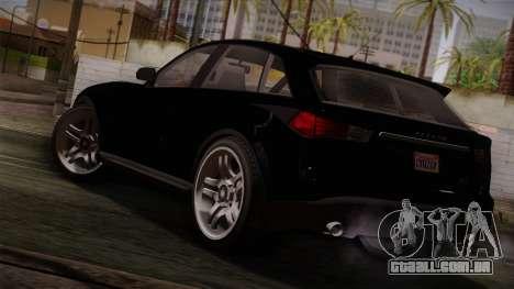Fathom FQ2 from GTA 5 para GTA San Andreas esquerda vista