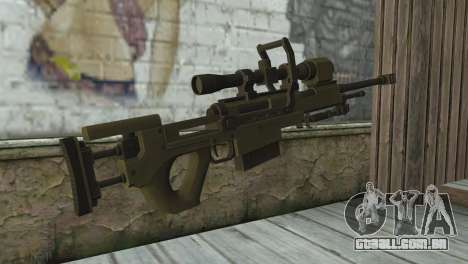 Piers Nivans Rifle from Resident Evil 6 para GTA San Andreas segunda tela