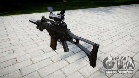 Máquina Heckler & Koch G36 CV para GTA 4 segundo screenshot
