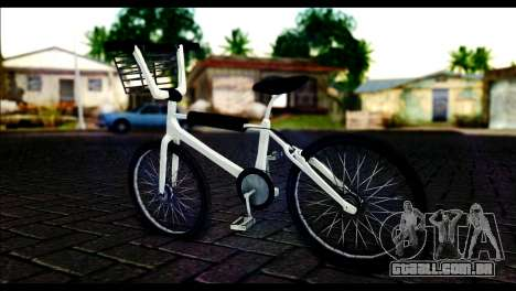 New Bike para GTA San Andreas esquerda vista