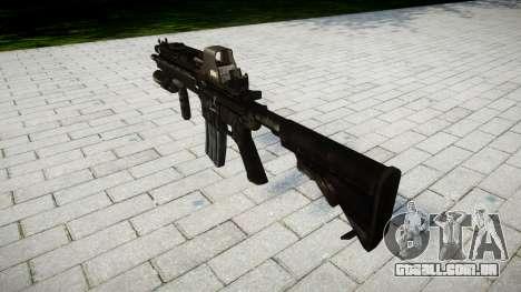 O HK416 rifle Tático alvo para GTA 4 segundo screenshot
