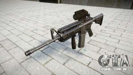 Automático carabina M4 Senhores Tático alvo para GTA 4