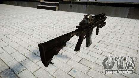 O HK416 rifle Tático para GTA 4 segundo screenshot