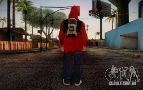 Ginos Ped 6 para GTA San Andreas segunda tela