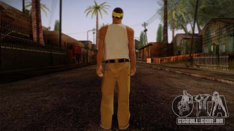 Fresno Buldogs 14 Skin 2 para GTA San Andreas segunda tela