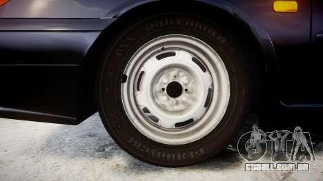 VAZ-2114 para GTA 4 vista de volta