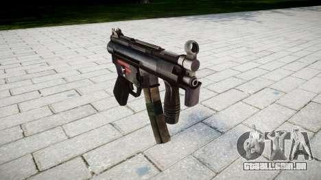 Arma MP5K para GTA 4