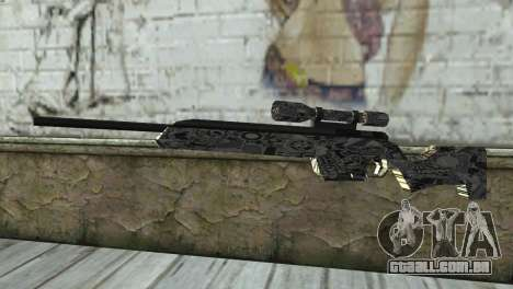 Novo rifle sniper para GTA San Andreas