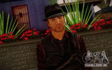 Murdered Soul Suspect Skin 2 para GTA San Andreas terceira tela