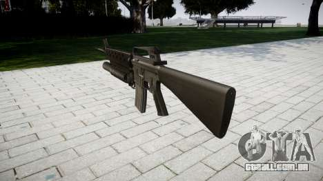 Rifle M16A2 M203 sight3 para GTA 4 segundo screenshot