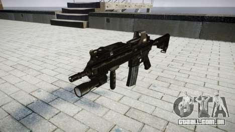 O HK416 rifle Tático alvo para GTA 4